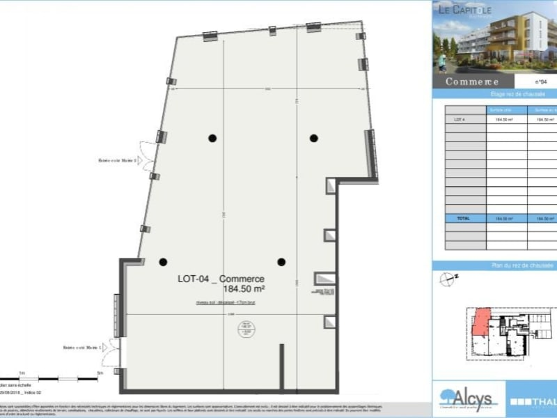 Deluxe sale empty room/storage Bischheim 485000€ - Picture 3