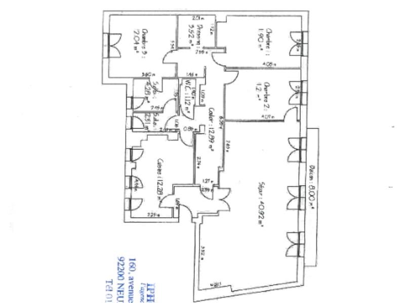 Sale apartment Neuilly sur seine 1495000€ - Picture 9