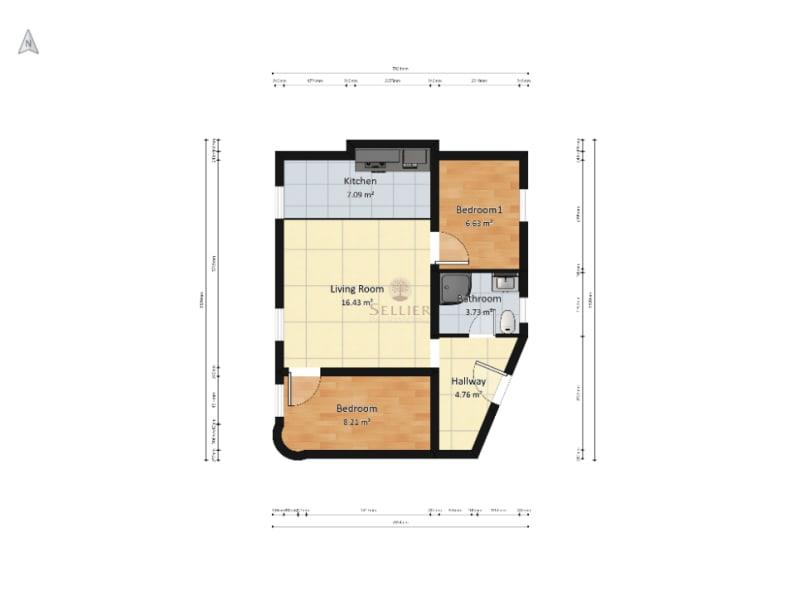 Vendita appartamento Paris 15ème 635000€ - Fotografia 14