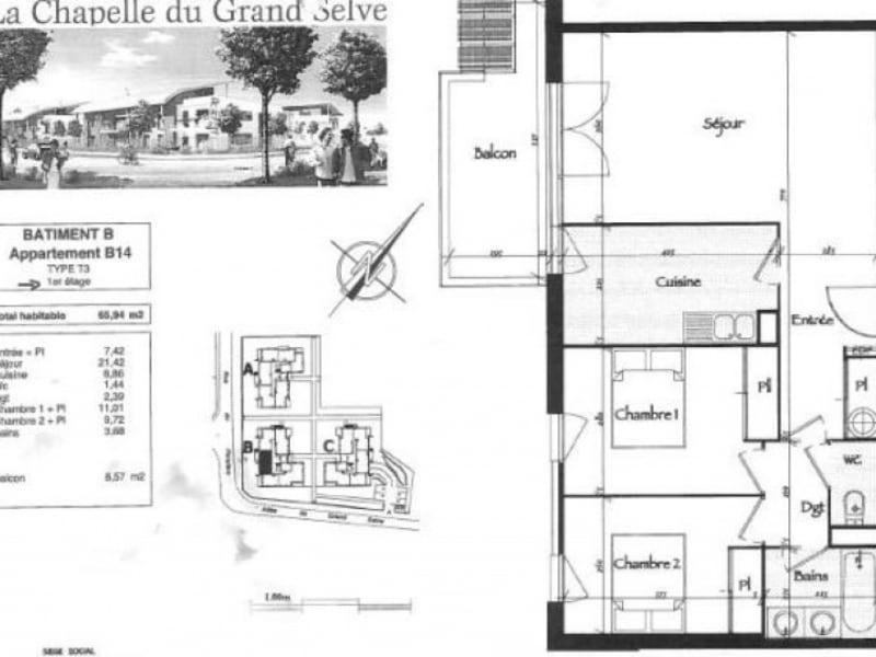 Vente appartement Toulouse 168000€ - Photo 4