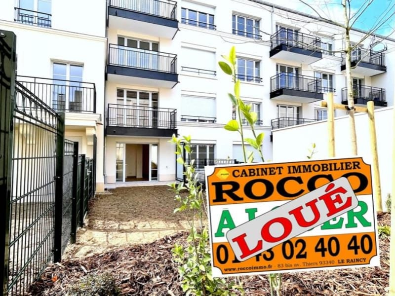 Rental apartment Le raincy 595€ CC - Picture 1