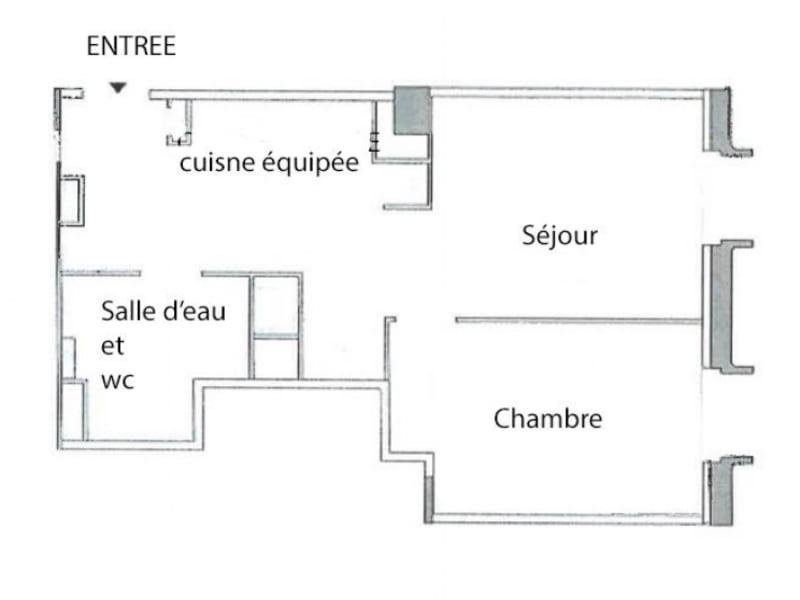Vente appartement Strasbourg 244000€ - Photo 6