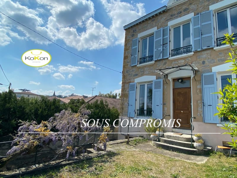 Vente maison / villa Vernaison 525 000€ - Photo 1