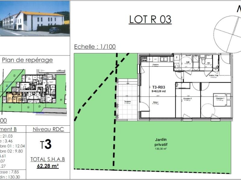 Sale apartment Nivolas vermelle 194314€ - Picture 2