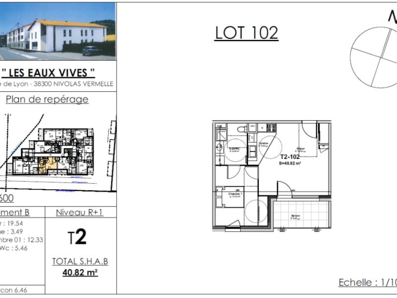 Sale apartment Bourgoin jallieu 137436€ - Picture 2