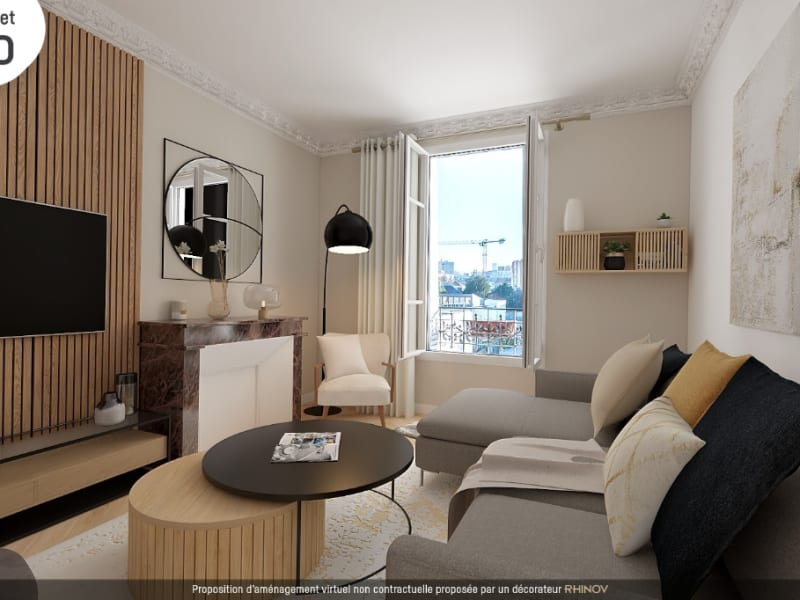Sale apartment Vanves 397000€ - Picture 1