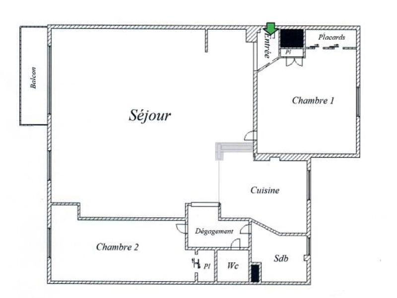 Vendita appartamento Paris 15ème 772000€ - Fotografia 4