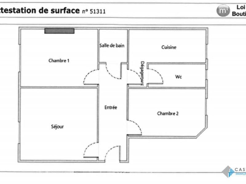 Rental apartment Paris 14ème 1534€ CC - Picture 16