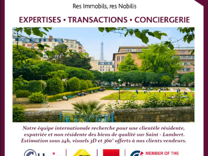 Vendita appartamento Paris 15ème 615000€ - Fotografia 1