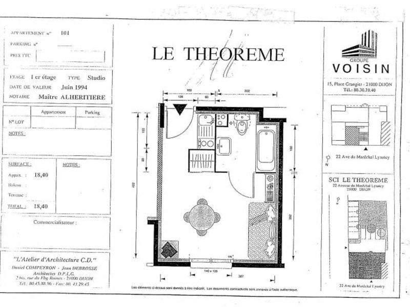 Location appartement Dijon 380€ CC - Photo 5