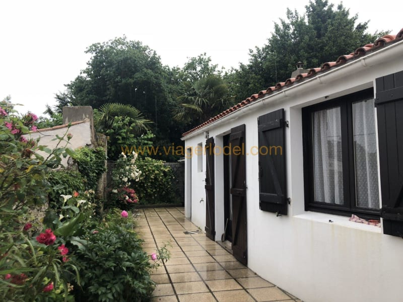 Verkauf auf rentenbasis haus Beauvoir-sur-mer 76500€ - Fotografie 1