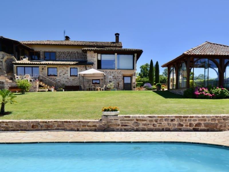 Sale house / villa St amour bellevue 1280000€ - Picture 1