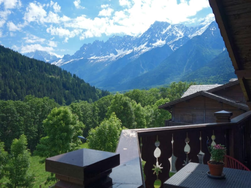 Sale apartment Les houches 585 000€ - Picture 1