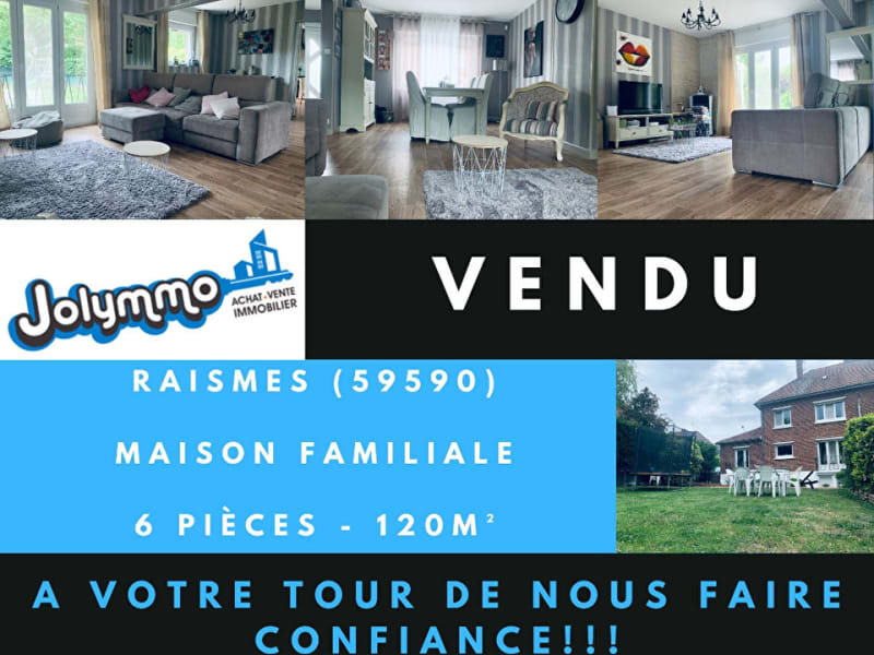 Vente maison / villa Raismes 202000€ - Photo 1