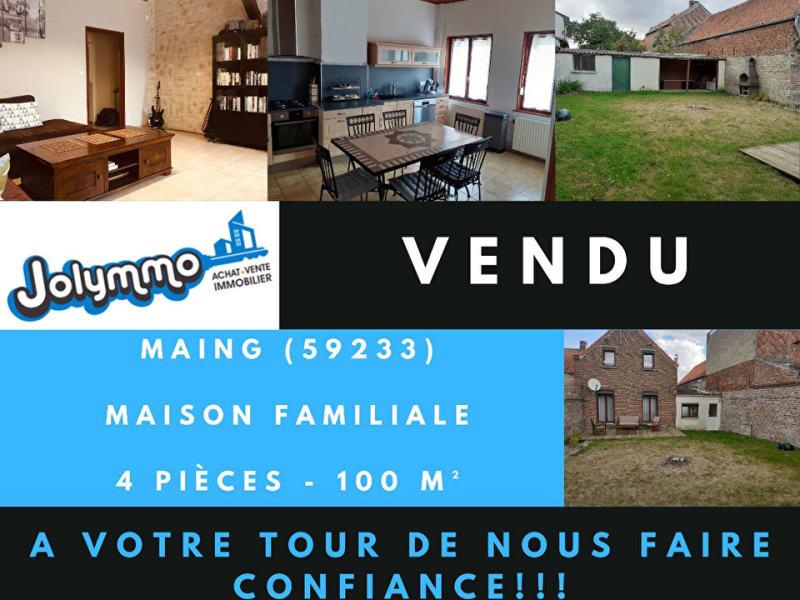 Vente maison / villa Maing 149000€ - Photo 1