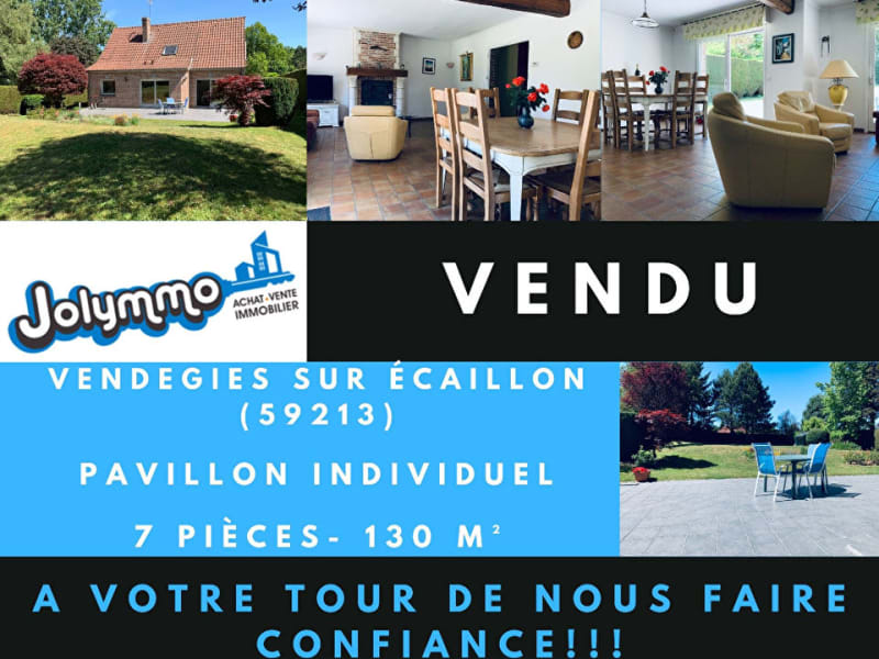 Vente maison / villa Vendegies sur ecaillon 309000€ - Photo 1