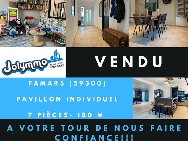 Sale house / villa Famars 285000€ - Picture 1