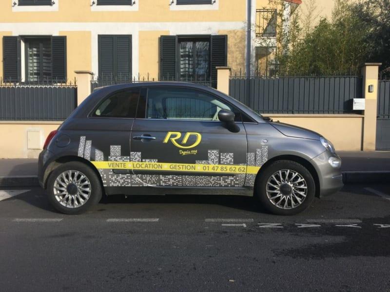 Rental parking spaces La garenne-colombes 110€ CC - Picture 1