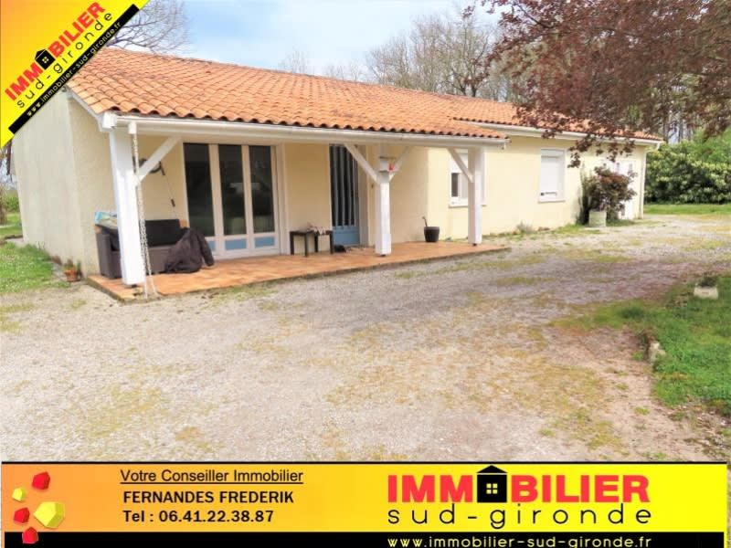 Vente maison / villa Podensac 265 000€ - Photo 1