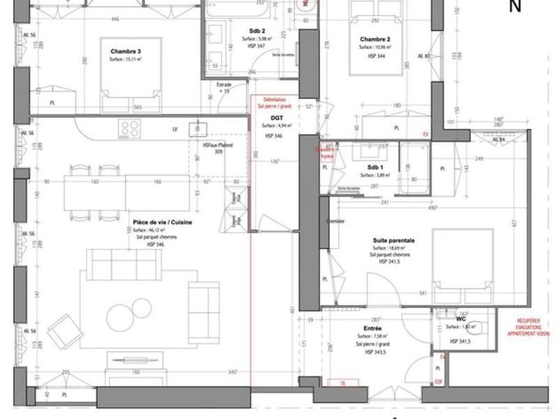 Vente appartement Lyon 5ème 855000€ - Photo 7