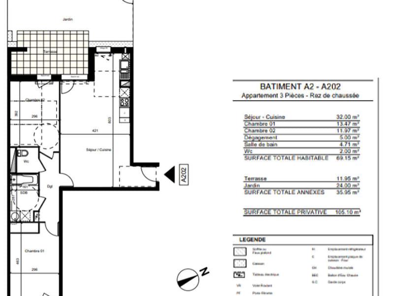 Sale apartment Colomiers 256000€ - Picture 2