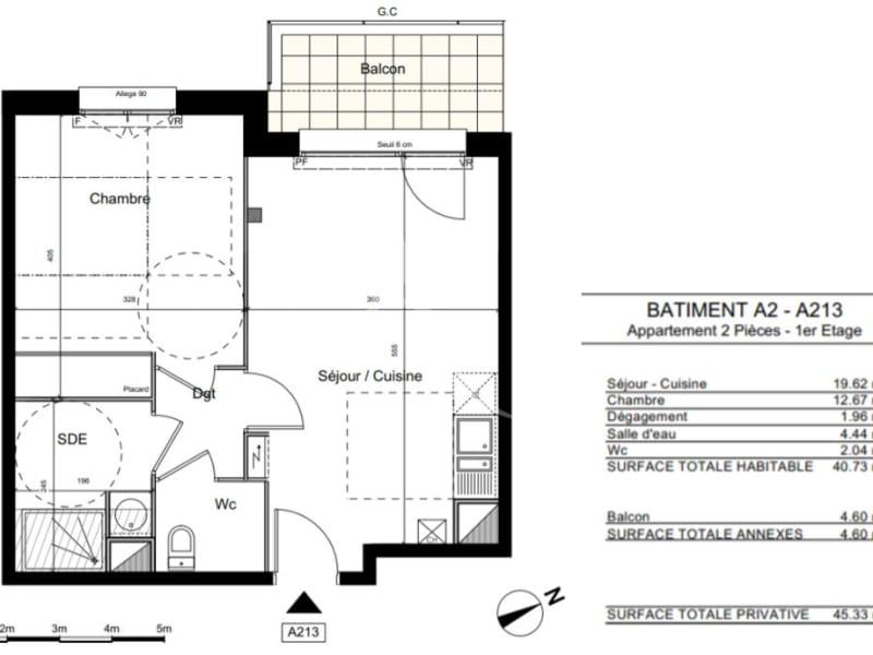 Vente appartement Colomiers 180000€ - Photo 2