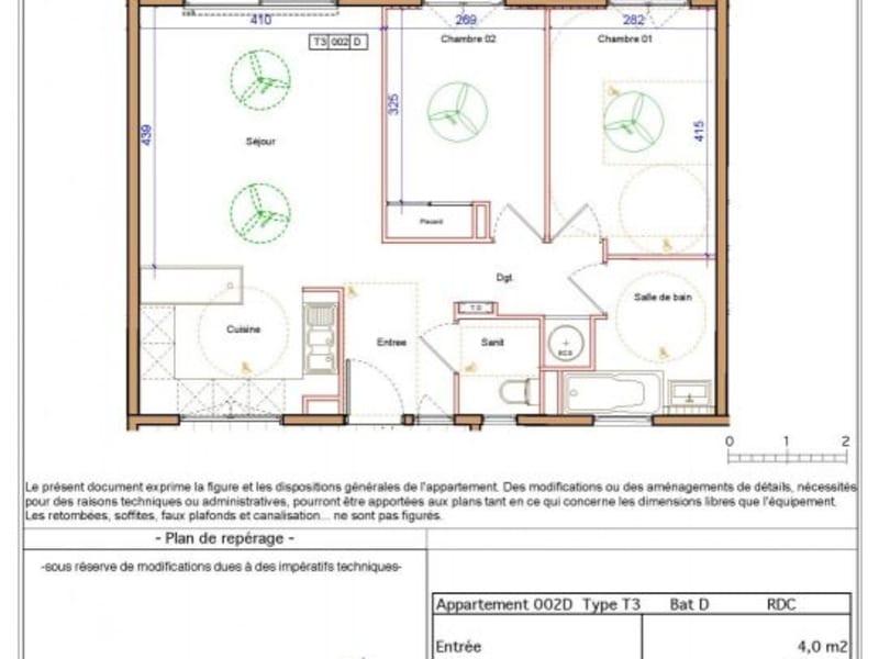 Location appartement St denis camelias 750€ CC - Photo 8