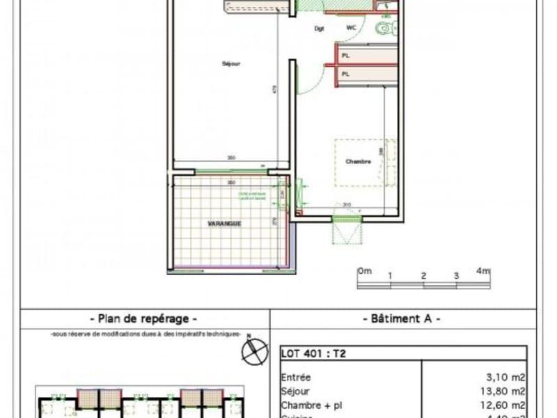 Location appartement Ste clotilde 610€ CC - Photo 8