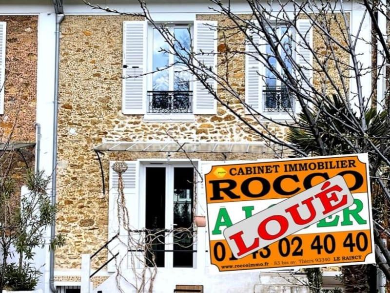 Location maison / villa Le raincy 1425€ CC - Photo 1