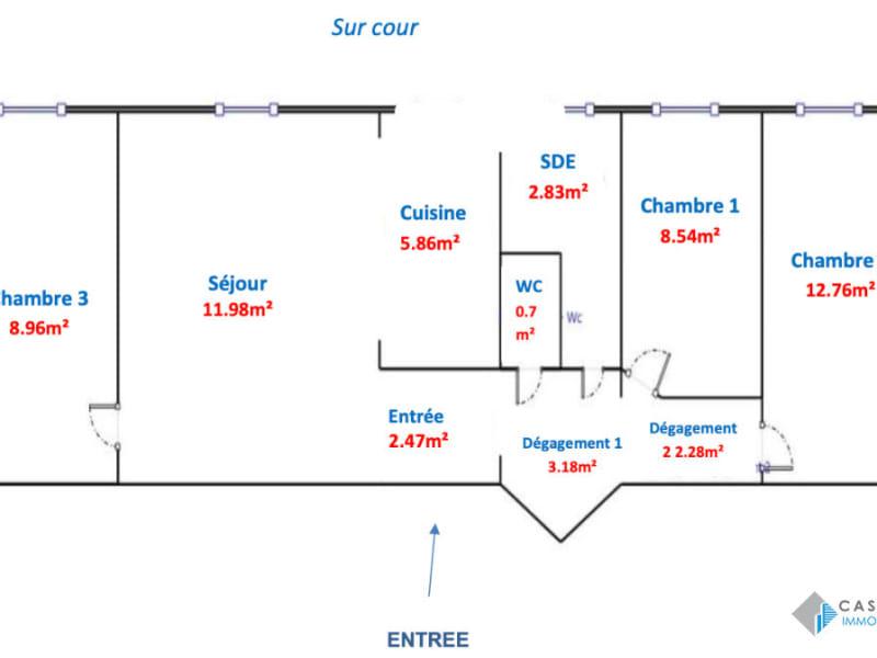Sale apartment Paris 14ème 632000€ - Picture 14