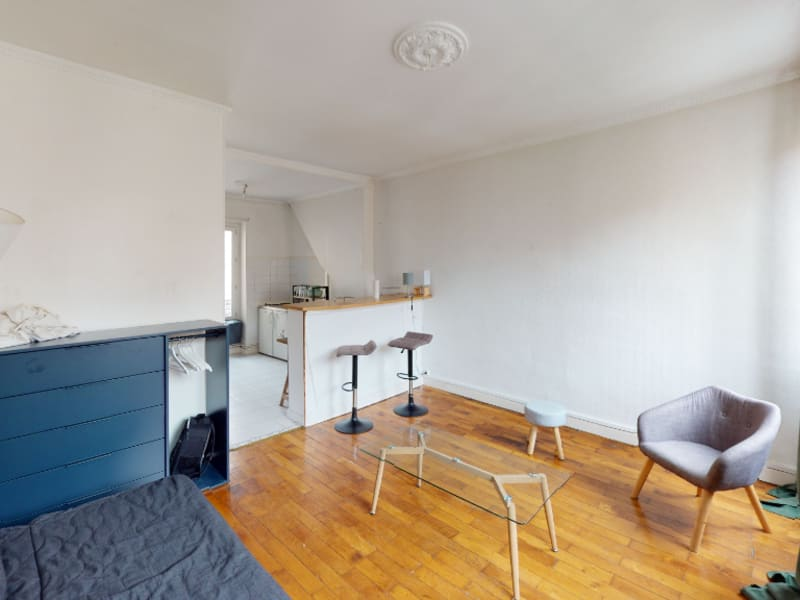 Rental apartment Lyon 7ème 596€ CC - Picture 2