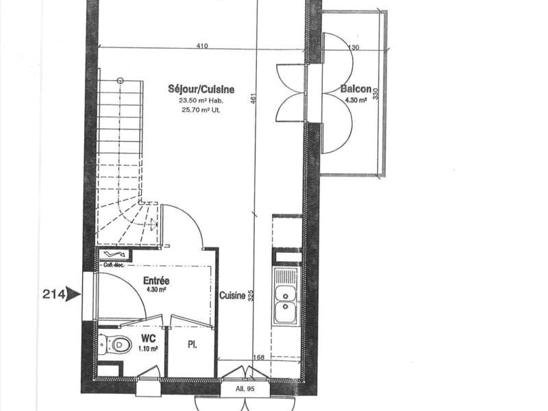 Alquiler  apartamento Villiers-sur-orge 915€ CC - Fotografía 12