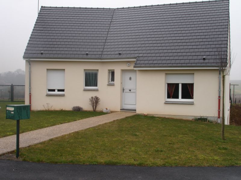 Rental house / villa Homblières 817€ CC - Picture 1