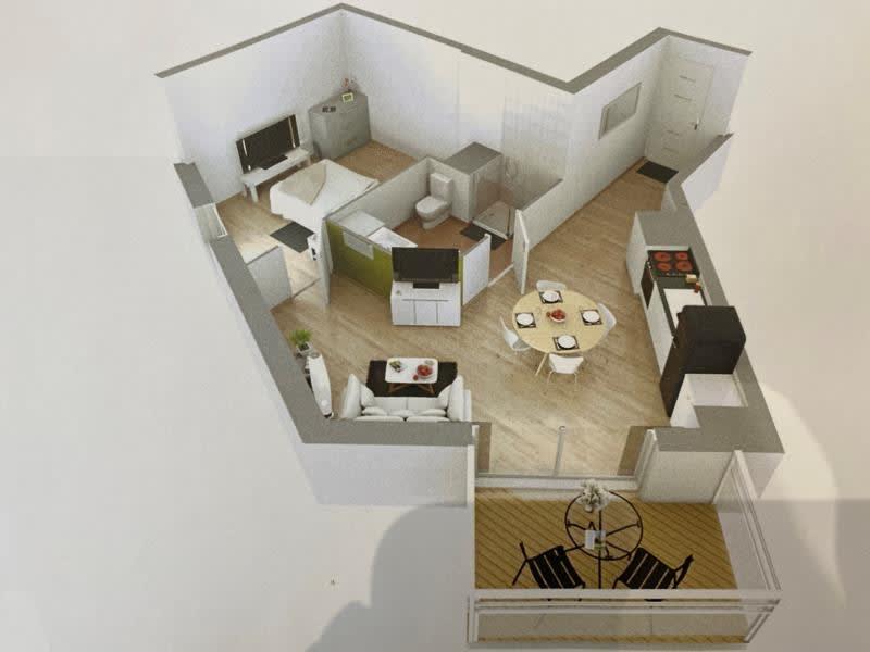 Rental apartment Nogent sur marne 800€ CC - Picture 2