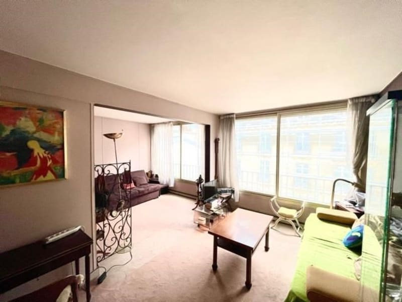 Vente appartement Paris 17ème 588000€ - Photo 1