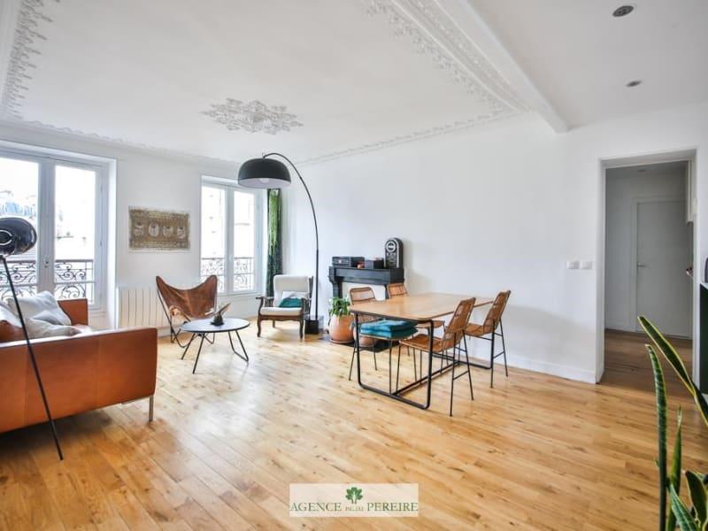 Vente appartement Paris 17ème 724000€ - Photo 2