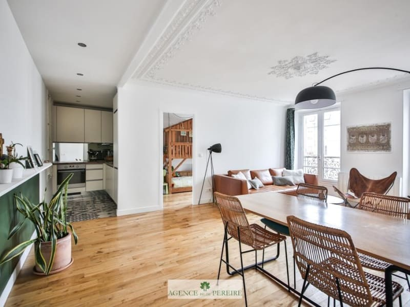 Vente appartement Paris 17ème 724000€ - Photo 9