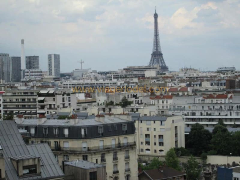 Life annuity apartment Paris 15ème 1382500€ - Picture 1