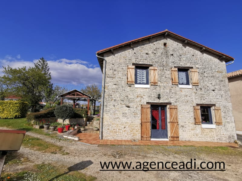 Vente maison / villa Pamproux 131 000€ - Photo 1
