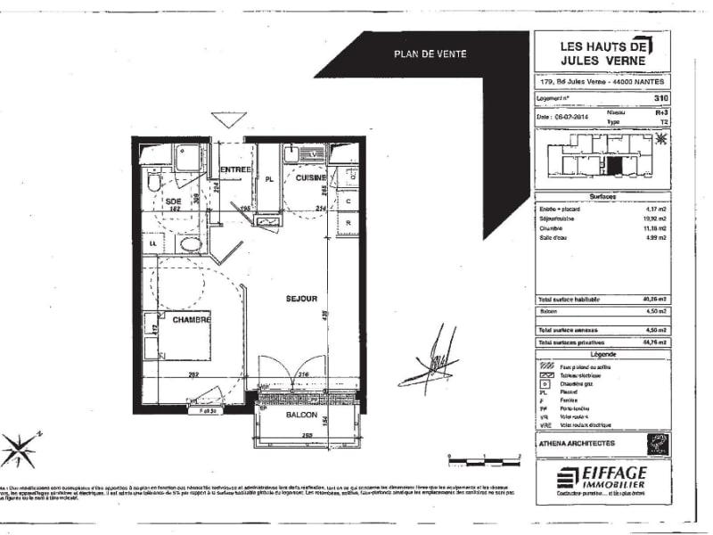 Alquiler  apartamento Nantes 552€ CC - Fotografía 1