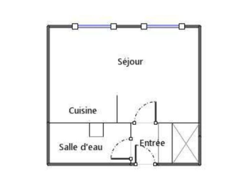 Location appartement Villeurbanne 500€ CC - Photo 1