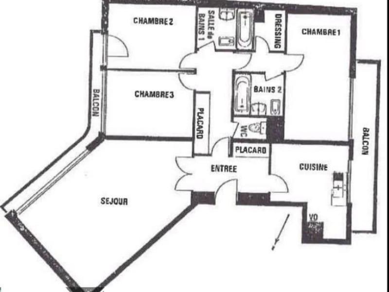 Vente appartement Paris 14ème 897000€ - Photo 2