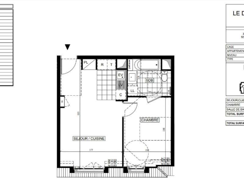New home sale building Ville d avray  - Picture 3