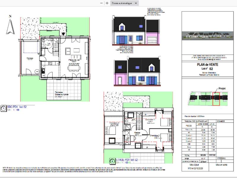 Vendita casa Le palais 400400€ - Fotografia 2
