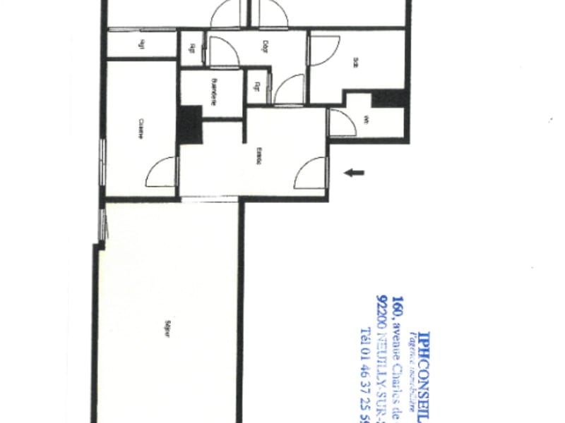 Sale apartment Neuilly sur seine 750000€ - Picture 3