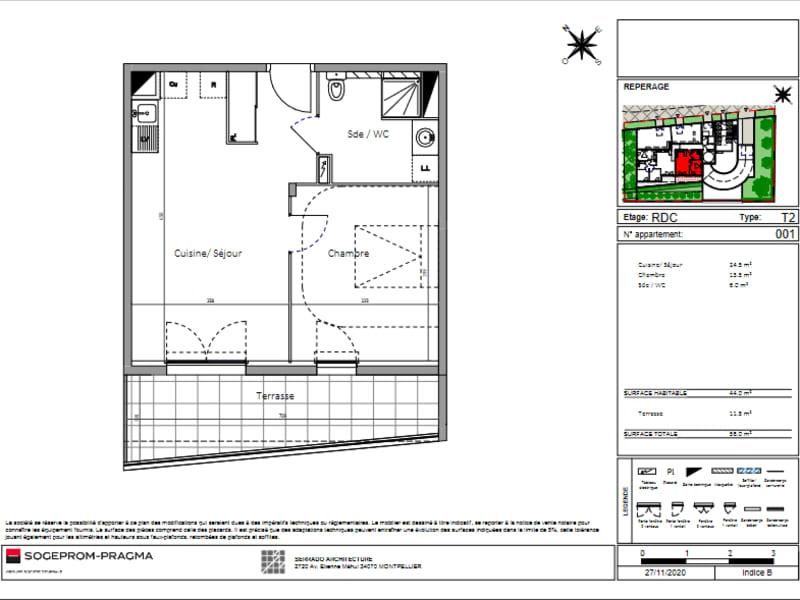 Sale apartment Montpellier 219000€ - Picture 4