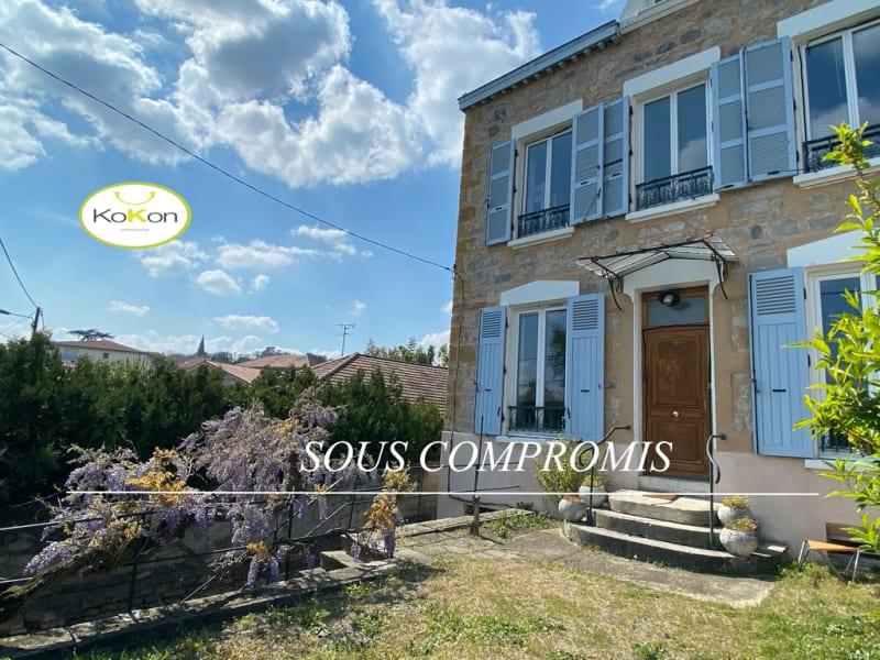 Sale house / villa Vernaison 525000€ - Picture 1