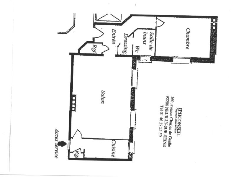 Sale apartment Neuilly sur seine 875000€ - Picture 1