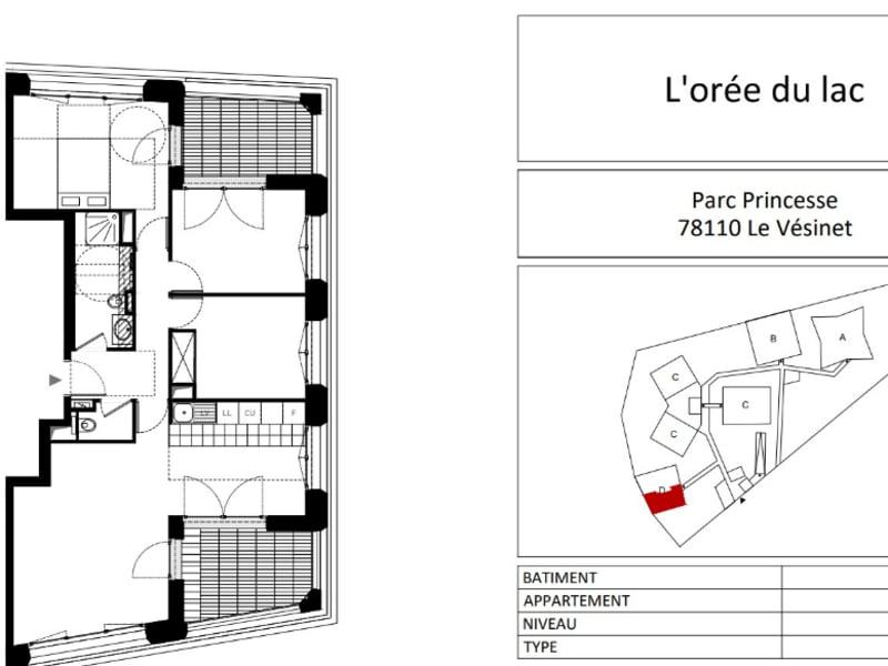 New home sale building Le vesinet  - Picture 5