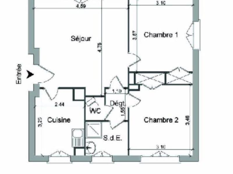 Location appartement Villefranche sur saone 510€ CC - Photo 15